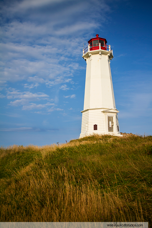 Louisbourg Lighthouse, Cape Breton